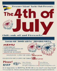 2016 Chili cookoff 4th_poster